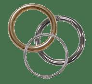 D-Rings, O-Rings, Slides, Loops